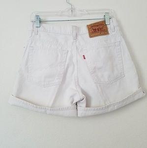 SUMMER SALE Levi's Vintage High Waisted Shorts